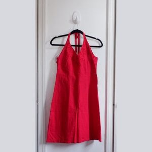 H&M BACKLESS RED DRESS